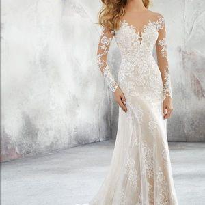 Wedding Dress Moro lee 8276 Ivory